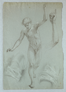 """Drawing, Study for """"Mercy's Dream"""", 1857–58"""