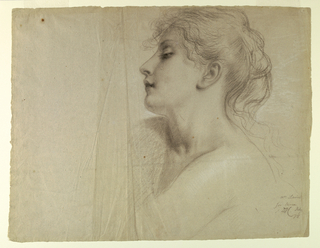 "Drawing, Study for ""Justice and Pe, July 7, 1878"