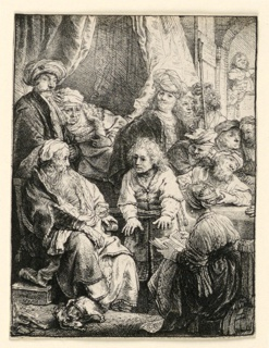 Print, Joseph Telling His Dreams, 1638