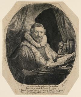 Print, Jan Uytenbogaert (1557–1644), Preacher of the Remonstrants