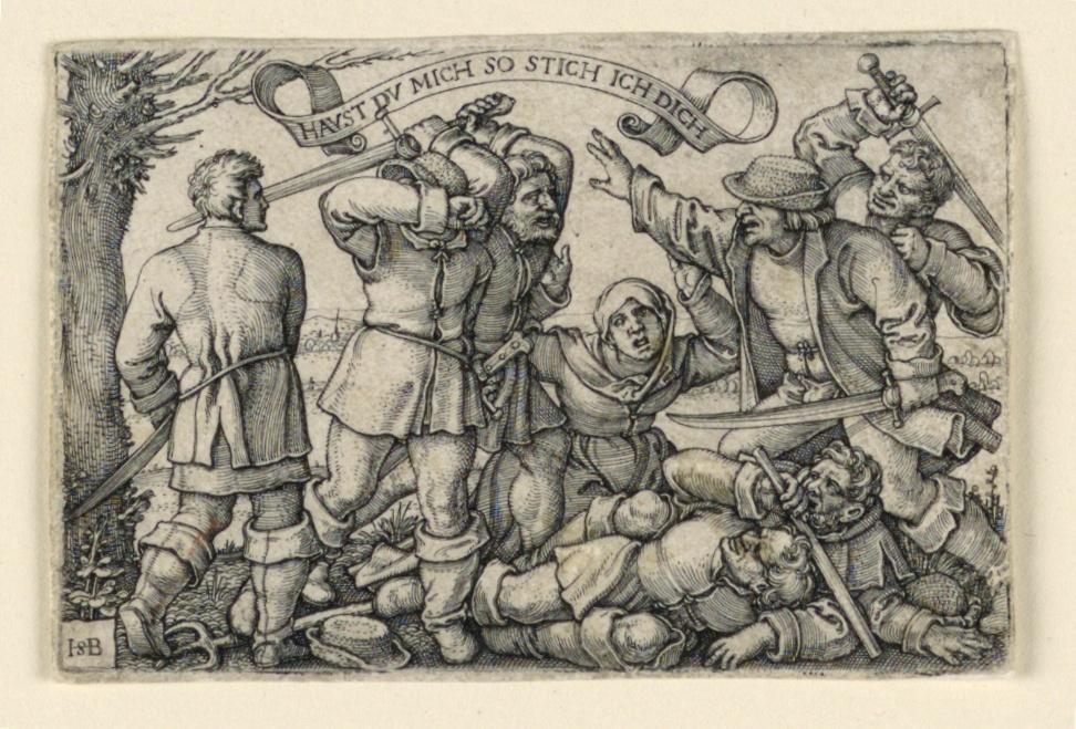 Print, The Peasants' Brawl