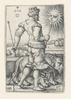 Print, The Sun, from The Seven Planets