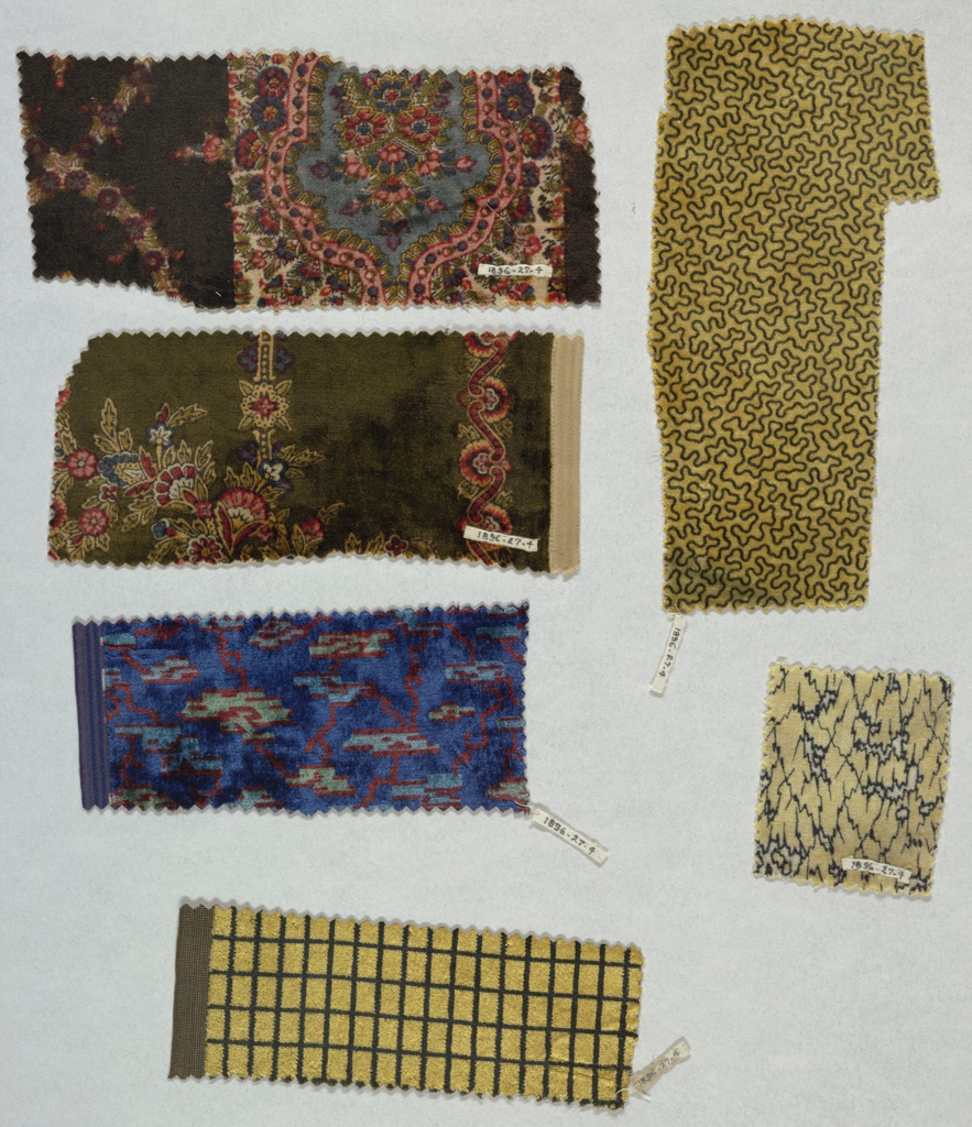 Six samples by Worth.