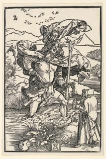 Print, Saint Christopher, 1503–1504