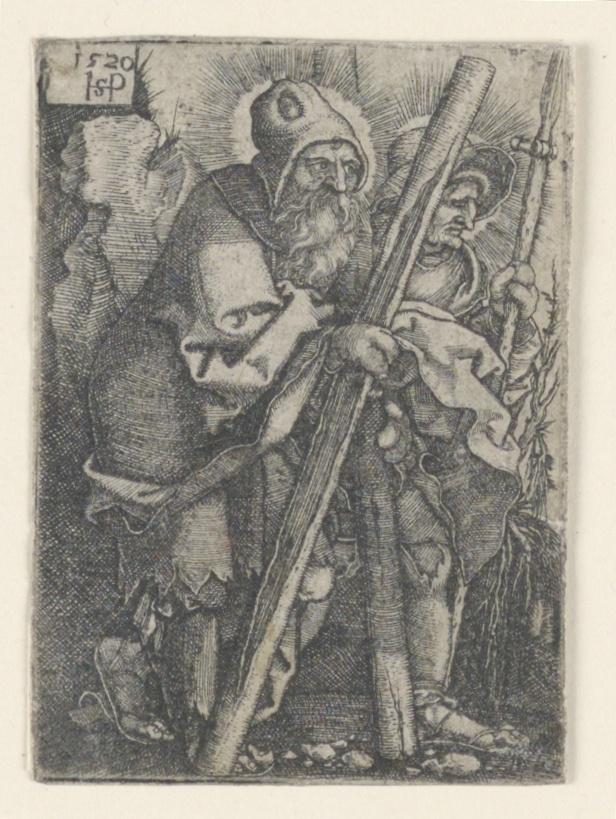 Print, Saint Andrew and Saint Thomas
