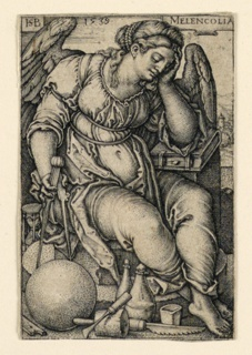 Print, Melencolia (Melancholy), 1539