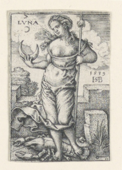 Print, The Moon, from The Seven Planets