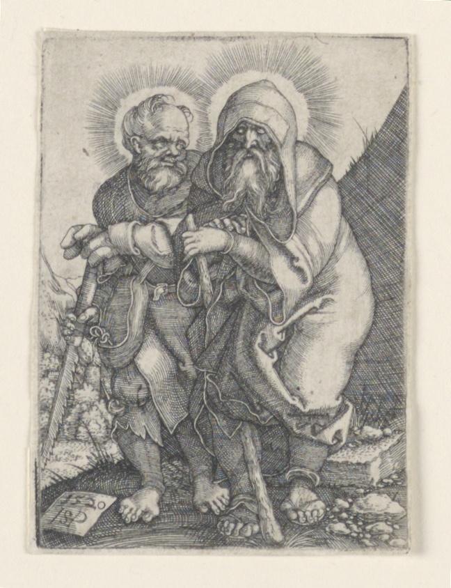 Print, Saint Simon and Saint Thaddeus