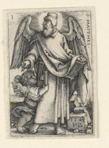 Print, St. Matthew, from The Four Evangelists
