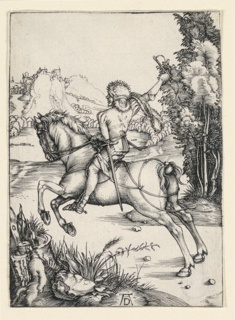 Print, The Little Rider, ca. 1496