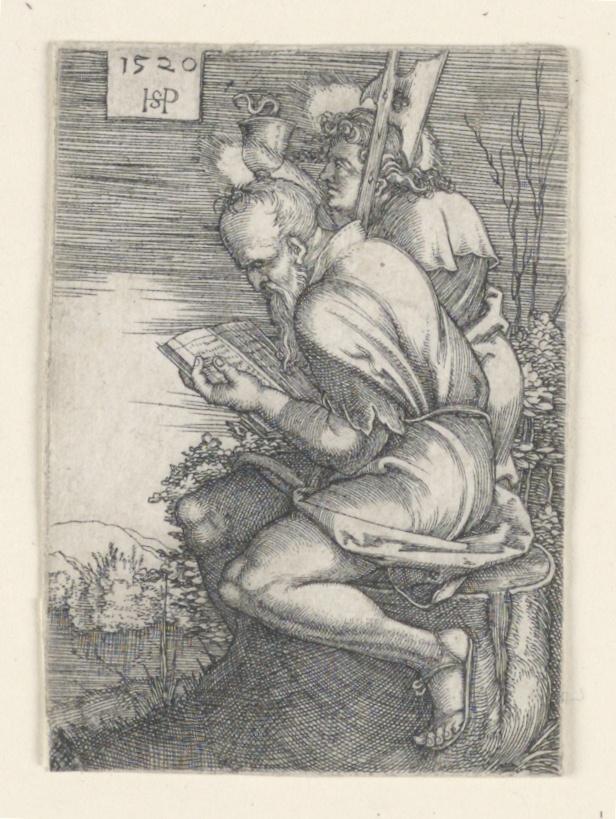 Print, Saint Matthew and Saint John