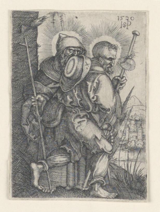 Print, Saint Philip and Saint James Major