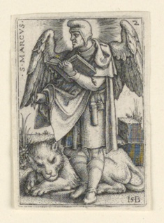 Print, St. Mark, from The Four Evangelists, 1541