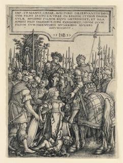 Print, The Justice of Trajan, 1537