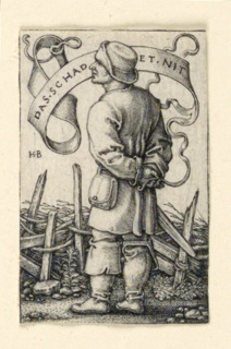 "Print, The Weather Peasant: ""Das Schadet Nit"", ca. 1542"