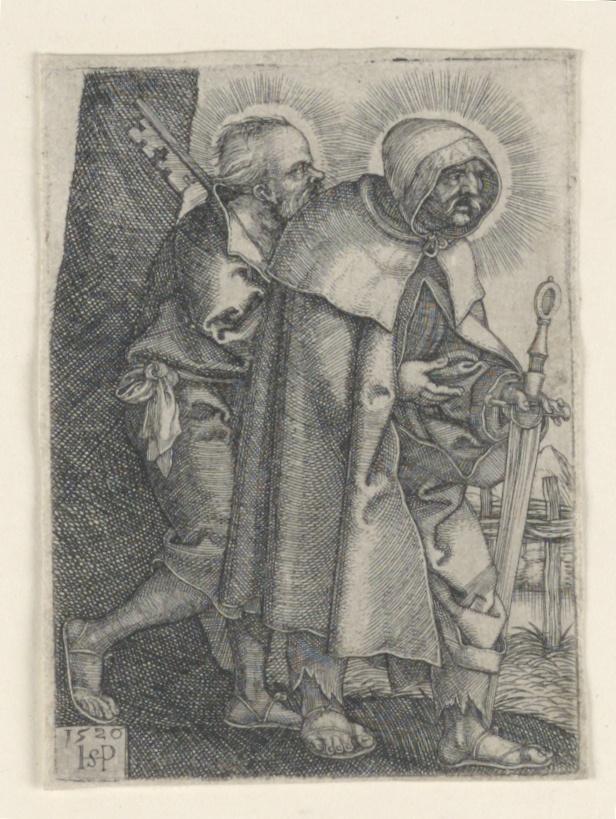 Print, Saint Peter and Saint Paul