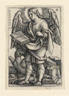 Print, St. John, from The Four Evangelists, 1541