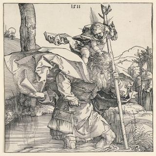 Print, Saint Christopher