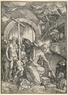 Print, Christ in Limbo (The Harrowing of Hell)