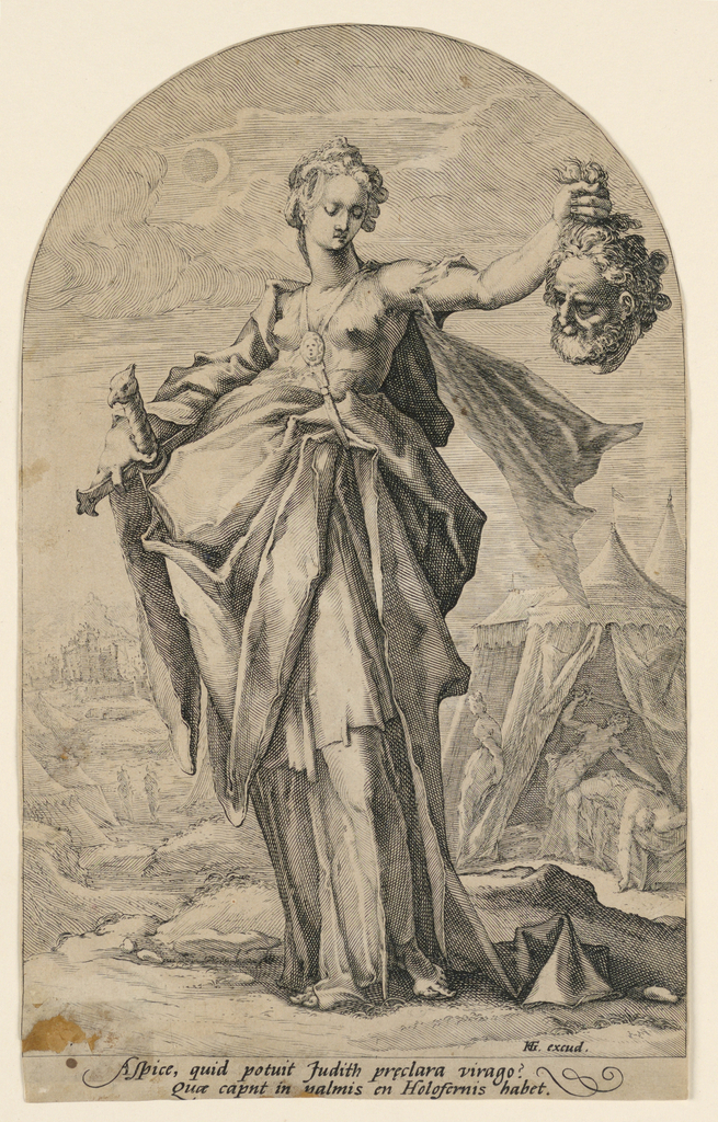 "Print, Judith, from the series ""Heroes of the Old Testament"""