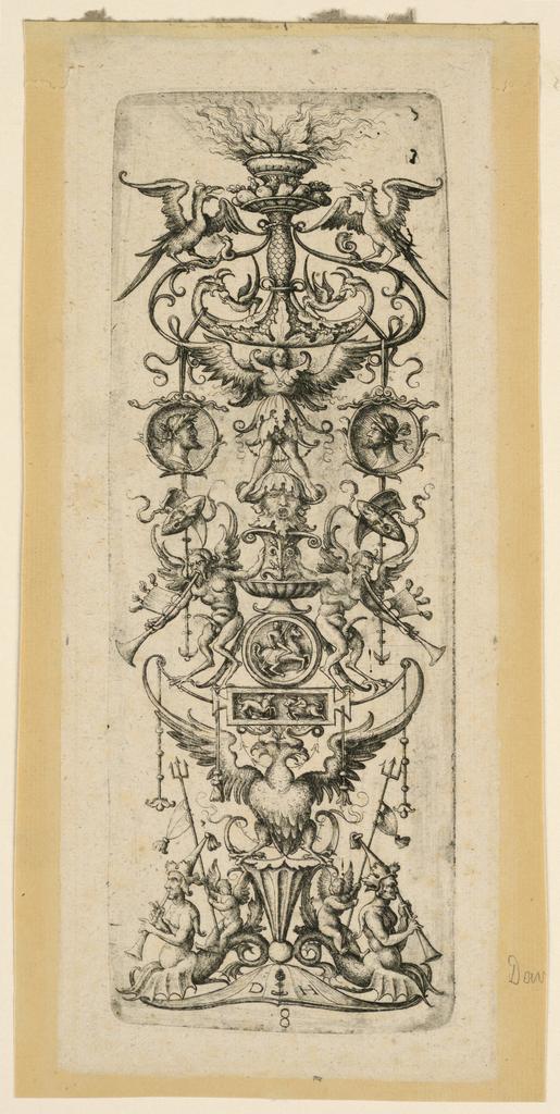 Print, Ornamental Candelabrum