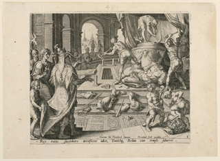 Print, The Destruction of Bel and his Temple