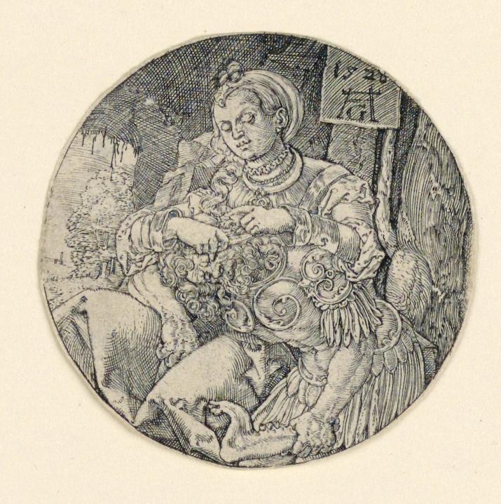 Print, Samson and Delilah