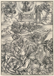 Print, The Four Avenging Angels, from The Apocalypse