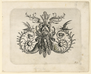 Print, Plate 53, from Neüw Grotteßken Buch (New Grotesque Book)