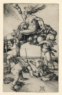 Print, The Witch, ca. 1500