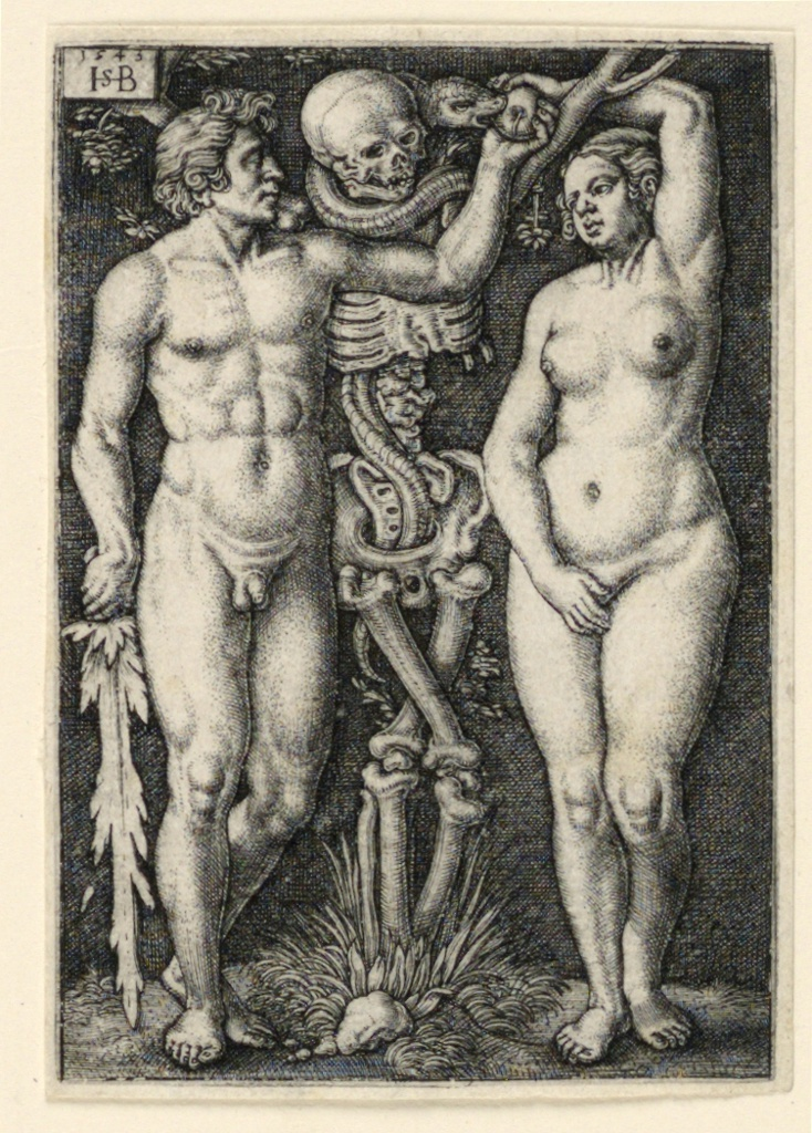Print, Adam and Eve