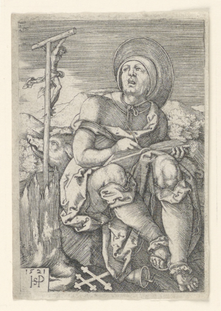 Print, Saint Anthony the Hermit