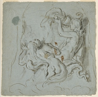 Drawing (Netherlands), late 17th century