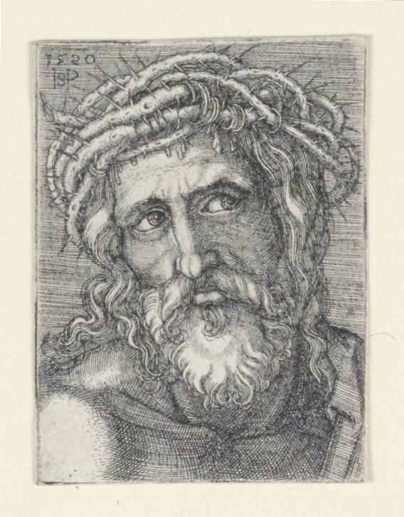 Print, The Head of Christ