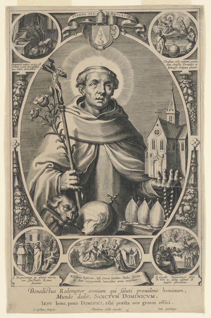 Print, Saint Dominic