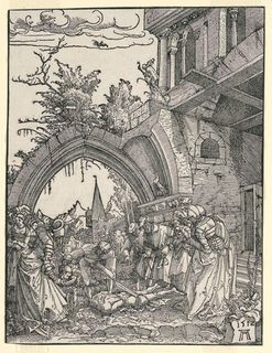 Print, Beheading of John the Baptist, 1512