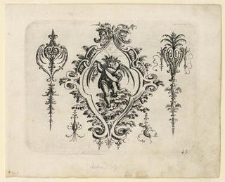 Print, Plate 43, from Neüw Grotteßken Buch (New Grotesque Book)