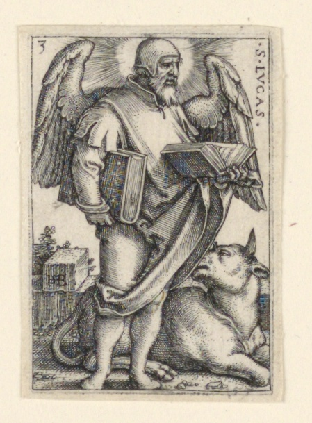 Print, St. Luke, from The Four Evangelists