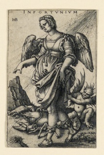 Print, Infortunium (Misfortune), 1541