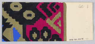 Drawing, Textile design, ca. 1919