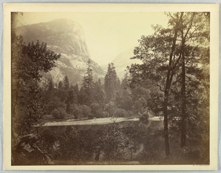 Photograph, Lake Ah-Wi-Yah, Yosemite, 1861