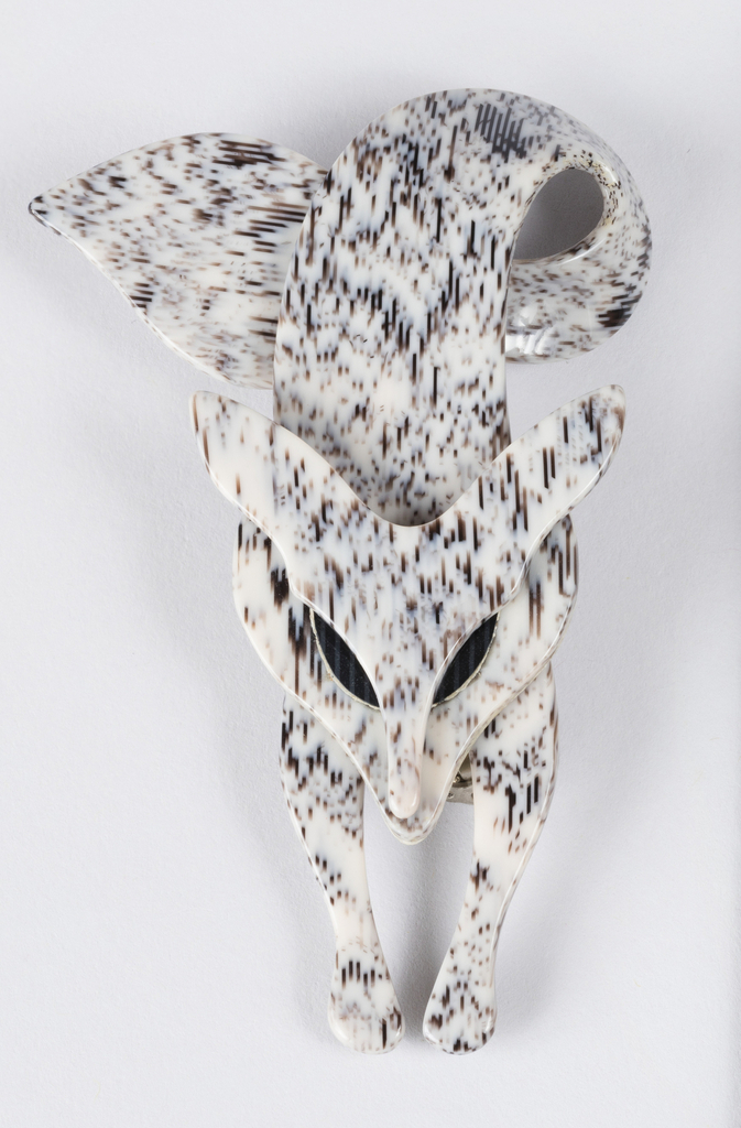 Brooch in the form of a fox