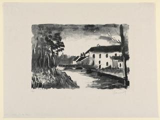 Print, Le Moulin de la Naze