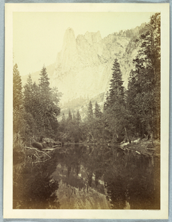 Photograph, Sentinel, 3270 Feet, Yosemite, 1861–66