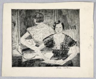 Drawing, Self-Portrait