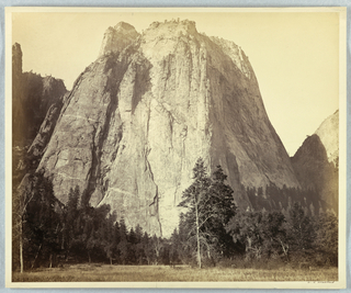 Photograph, Cathedral Rock, Yosemite, 1861–66