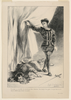 The Death of Polonius (III,4)