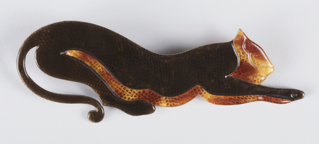 Brooch in the shape of a panther