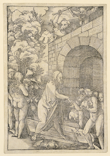 Print, Christ in Limbo, from Speculum passionis domini nostri Ihesu Christi, 1507