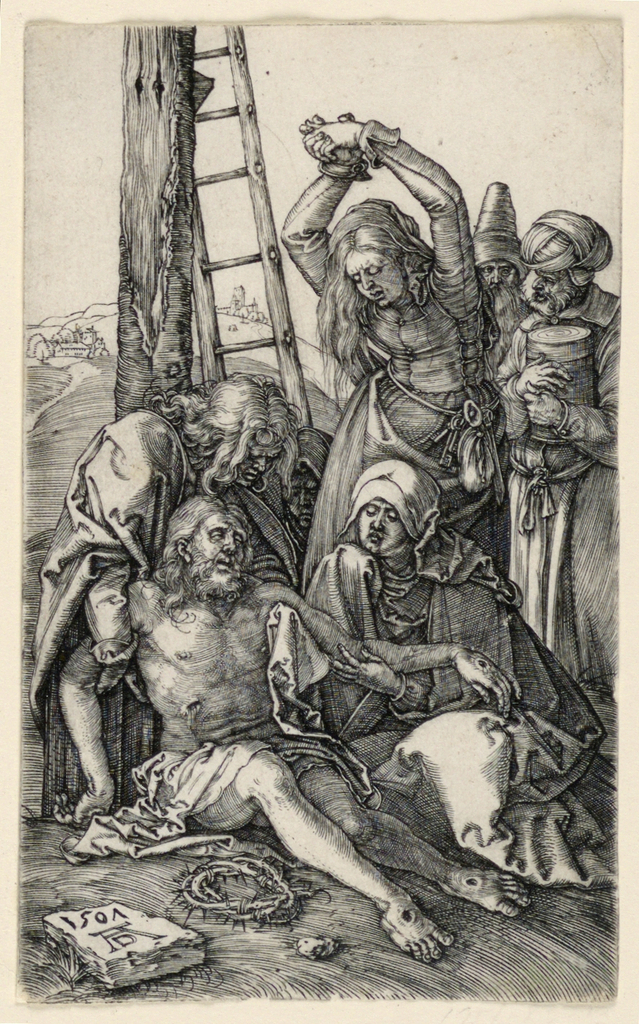 Print, The Lamentation over Christ, from The Passion